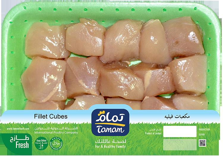 Fillet Cubes